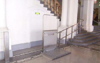 Plataforma Elevadora Curva
